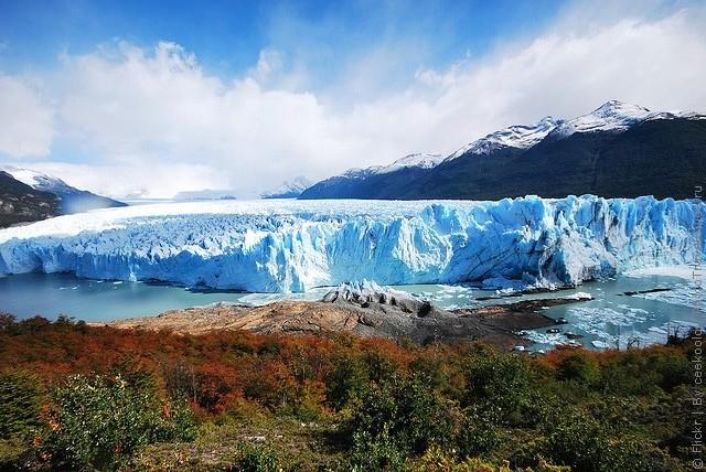 ледник перито морено фото