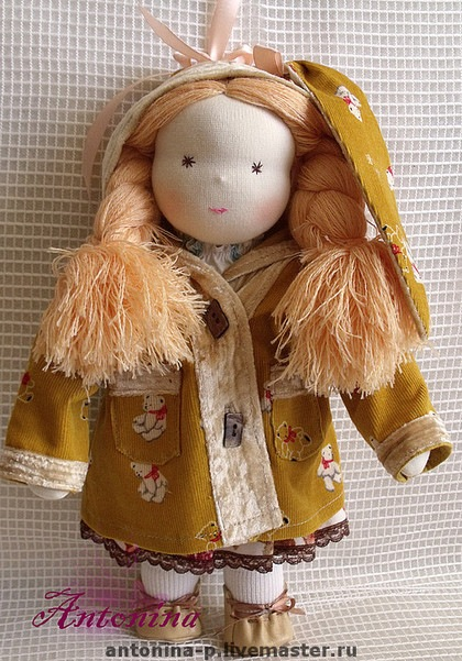 Вальдорфская кукла. Фото / Waldorf doll. Photo