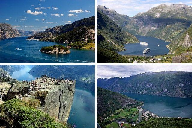 10 самых красивых фьордов в мире