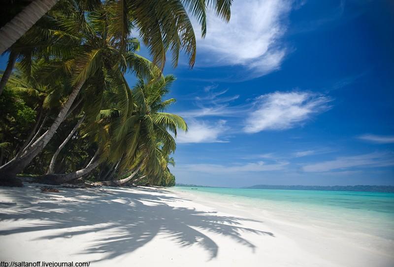 Андаманские острова Индийского океана