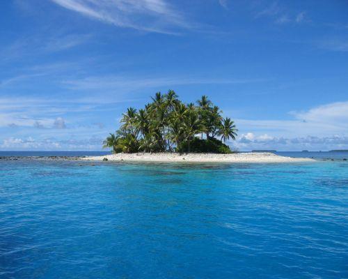 коралловые острова Тихого океана