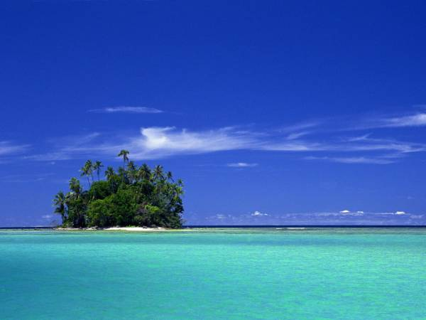 вулканические острова Тихого океана
