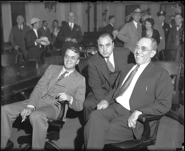 Аль Капоне: суд по уплате налогов