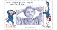 Астрид Линдгрен (14 ноября 1907 — 28 января 2002 гг.)