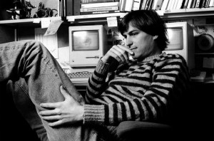 Молодой Стив Джобс