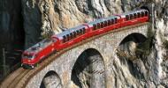 Земмерингский перевал — первая в мире горная железная дорога