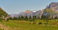 Национальный парк Глейшер (Glacier) в США