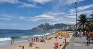 Пляж Ипанема в Рио-де-Жанейро — ФОТО.