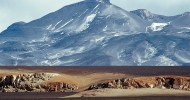 Вулкан Охос-дель-Саладо, Аргентина и Чили.