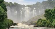 Водопад Каландула, Ангола.