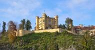 Замок Хоэншвангау, Германия — ФОТО.