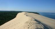 Песчаная дюна во Франции