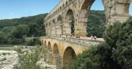 Акведук Пон-дю-Гар во Франции — ФОТО