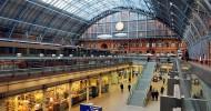 Вокзал Сент-Панкрас в Лондоне — ФОТО
