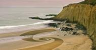 Рисунки на песке: самое недолговечное искусство