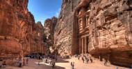 Древний город Петра в Иордании