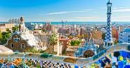 Парк Гуэль в Барселоне, Испания