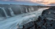Водопад Селфосс в Исландии фото