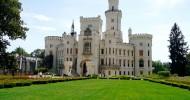 Замок Глубока-над-Влтавой фото и история замка