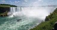Ниагарский водопад, фото водопада, США и Канада