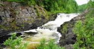 Водопад Кивач в Карелии, фото, как добраться до водопада