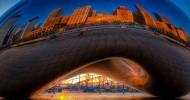 Облачные ворота в центре Чикаго