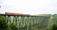Мост Kinzua в Пельсильвании