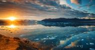 Лагуна Ёкюльсаурлоун Исландия, фото озера
