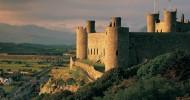 Замок Харлех, Уэльс — ФОТО.