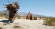 Скульптуры в пустыне Анза Боррего в Калифорнии (32 фото)