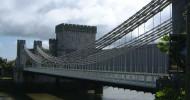 Висячий мост через Менай, Уэльс
