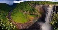 Водопад Кайетур, Гайана, фото водопада