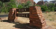 Отель Zion Lodge, США — ФОТО