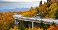 Автомагистраль Блю Ридж (Blue Ridge Parkway) — ФОТО.