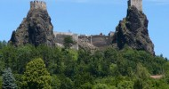 Чешская крепость Троски