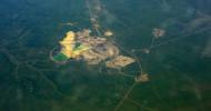 """Кимберлитовая трубка """"Мир"""" (Якутия) — самый большой алмазный карьер в мире"""