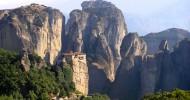 Монастыри Метеоры, Греция (28 фото)