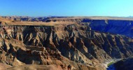 Каньон Фиш-Ривер в  Намибии