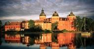 Замок Грипсхольм в Швеции — ФОТО