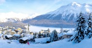 Санкт-Мориц, горнолыжный курорт в Швейцарии, фото курорта