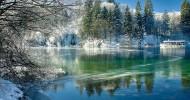 Плитвицкие озера в Хорватии — ФОТО.