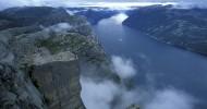 Люсе-фьорд (Lysefjord), Норвегия.