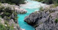 Река Соча, Словения и Италия