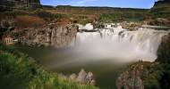 Водопад Шошони, США.