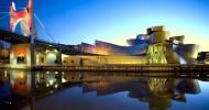 Музей Гуггенхайма в Бильбао, Испания.