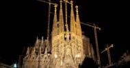 Храм Святого Семейства в Барселоне фото.