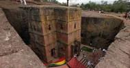 Церковь Святого Георгия в Лалибеле, Эфиопия