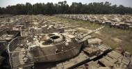 Кладбище бронетехники в Афганистане