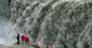 Водопад Деттифосс, фото водопада