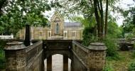 Хайгейтское кладбище в Лондоне, Англия.